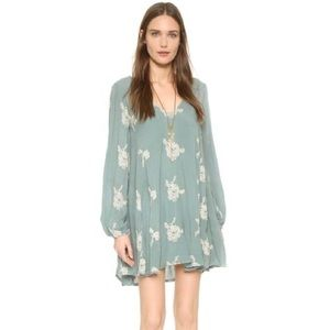 Free People Emma Embroidered Dress Size Small